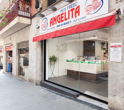 "Reforma pescaderia ""Angelita"" en Nou Barris"